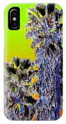 Clearlake Palm Trees IPhone Case