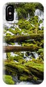 Clearwater Falls And Rapids IPhone Case