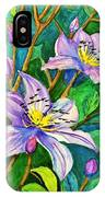Clematis For Elsie IPhone Case