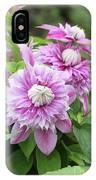 Clematis Josephine #6 IPhone Case