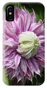 Clematis Josephine #7 IPhone Case