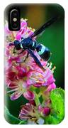 Clethra And Wasp IPhone Case