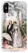 Clevelands Wedding, 1886 IPhone Case