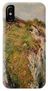 Cliff At Dieppe IPhone Case