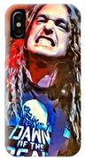 Cliff Burton Portrait IPhone Case