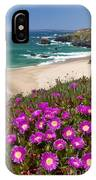 Cliff Flowers IPhone Case