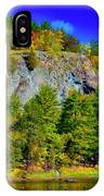 Cliff Of Color IPhone Case