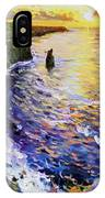 Cliffs Of Moher At Sunset IPhone Case