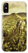 Cliffs, Steams And Valleys IPhone Case