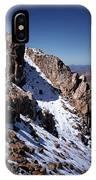 Climb That Mountain IPhone Case