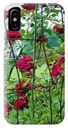 Climbing Roses IPhone Case
