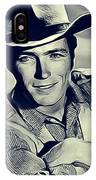 Clint Eastwood, Actor/director IPhone Case