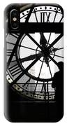 Clock Musee D'orsay IPhone Case