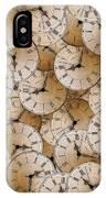 Clock IPhone Case