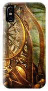 Clockmaker - The Day Time Stood Still  IPhone Case