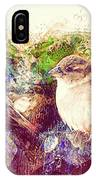 Close Encounters Of The Bird Kind IPhone Case