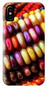 Close Up Indian Corn IPhone Case