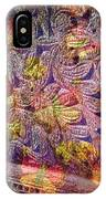 Closed Butterfly Door IPhone Case