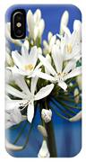 Closeup White Californian Flower IPhone Case
