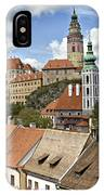 Clouds Over Cesky Krumlov IPhone Case