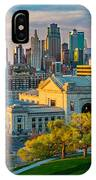 Clouds Over Kansas City IPhone Case
