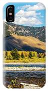 Clouds Over The Teton Foothills IPhone Case