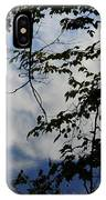 Clouds Tree Water IPhone Case