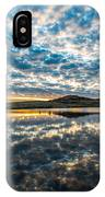 Cloudscape - Reflection Of Sky In Wichita Mountains Oklahoma IPhone Case