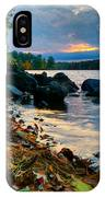 Cloudy Autumn Sunset IPhone Case