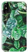 Clover Drops IPhone Case