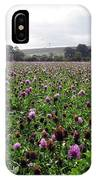 Clover Field Wiltshire England IPhone Case