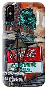 Clover Grill - New Orleans IPhone Case