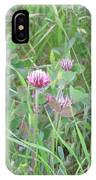 Clover In The Grass IPhone Case