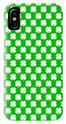 Clover Titled  - Pattern IPhone Case