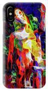 10780 Clown 3 - My Best Friend Neon IPhone Case