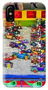 Clown Car Racing Game IPhone Case