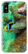 Clown2 With Anemone IPhone Case