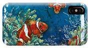 Clowning Around - Clownfish IPhone Case