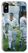 Club Cricket Tea Break IPhone Case