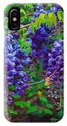 Clusters Of Wisteria IPhone Case