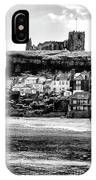 Coast - Whitby Abbey And Church IPhone Case