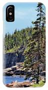 Coastline And Otter Cliff 4 IPhone Case