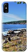 Coastline At Otter Point 1 IPhone Case