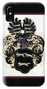 Coat Of Arms Black IPhone Case