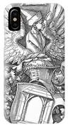 Coat Of Arms Of The House Of Dbcrer 1523 IPhone Case