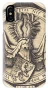 Coat Of Arms With A Lion IPhone Case