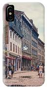 Cobblestone Streets In Old Montreal  IPhone Case