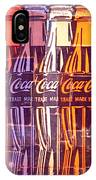 Coca Cola Newspaper Art Pop Art Pur Serie IPhone Case