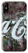 Coca Cola Wall IPhone Case