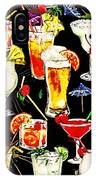 Cocktail Hour In The Tropics IPhone Case